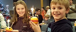 5pm Christingle Service for Christmas Eve