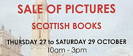 Christian Aid Art Sale with Scottish Books