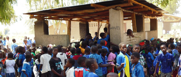 Our Malawi group visited Cape Maclear School