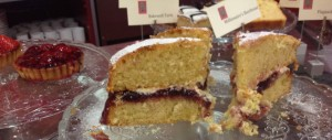 home made cakes at the Undercroft Cafe Edinburgh