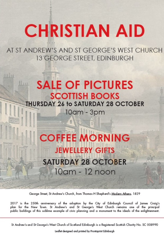 This Annual 3 Day Autumn Event For Christian Aid Returns To St Andrews And Georges West In George Street Its A Great Opportunity Find The Perfect