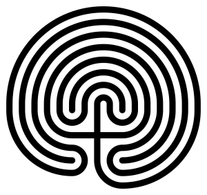 Image of Cretan style labyrinth